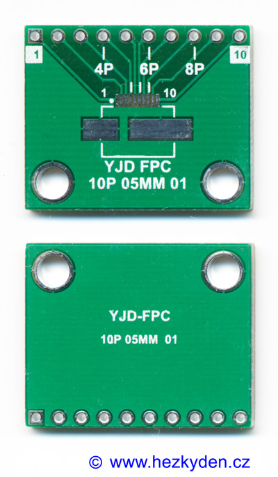 SMD adapter FPC 10 pin