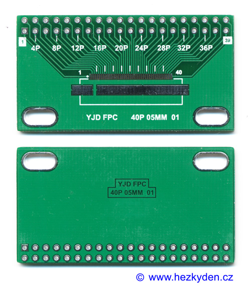 SMD adapter FPC 40 pin