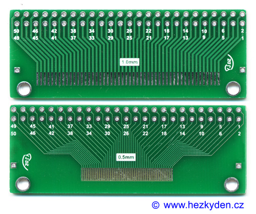 SMD adapter FPC 50 pin