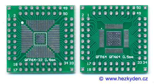 SMD adapter QFP 32/44/64 pin