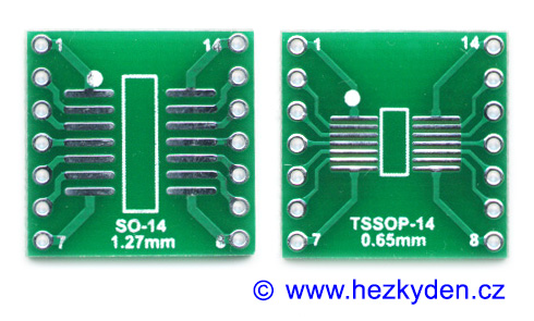 SMD adapter SO14 SOIC14 TSSOP14