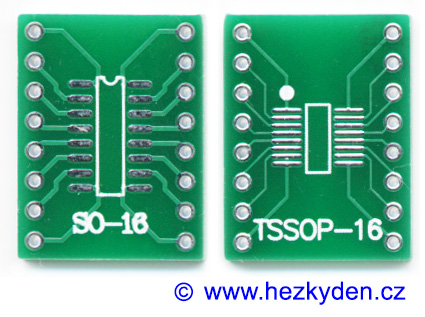 SMD adapter SO16 SOIC16 TSSOP16