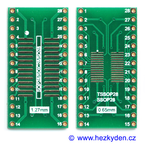 SMD adapter SO28 SOIC28 TSSOP28