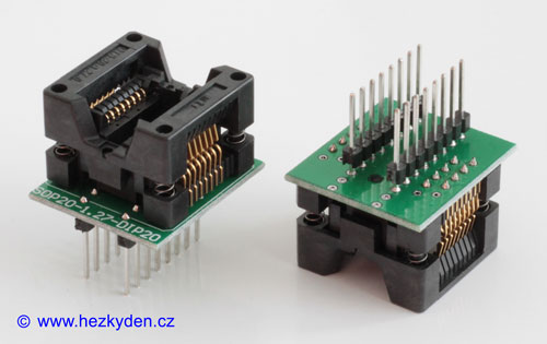 Test socket 16pin 209mil PCB