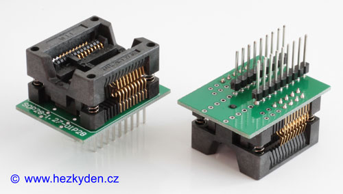Test Socket 16pin 300mil PCB