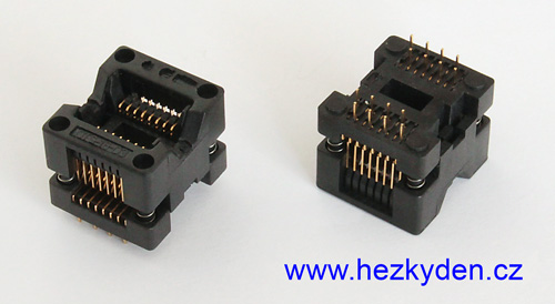 Test Socket 16 pin SMD