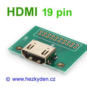 Adapter HDMI 19pin