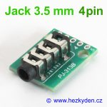 Adapter Jack 3.5mm 4pin