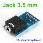 Adapter Jack 3.5 mm stereo