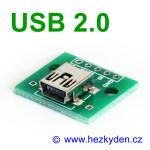 Adapter/redukce USB 2.0 mini