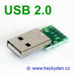 Adapter/redukce USB 2.0 typ A konektor