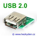 Adapter/redukce USB 2.0 typ A zásuvka
