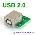 Adapter/redukce USB 2.0 typ B
