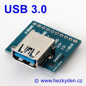Adapter/redukce USB 3.0 typ Azásuvka