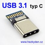 Adapter USB 3.1 typ C konektor