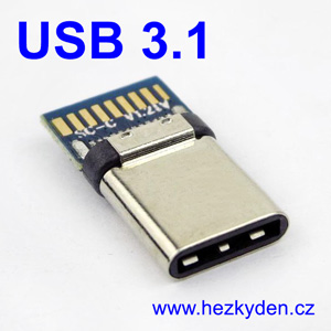 Adapter USB 3.1 typ C konektor 3.1