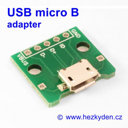 Adapter USB micro B