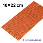 Bastldeska 10x22 cm
