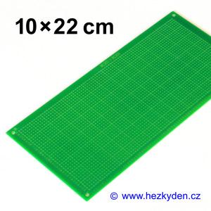 Bastldeska 10x22 cm PROFI jednostranná zelená