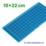 Bastldeska 10x22 cm PROFI jednostranná modrá