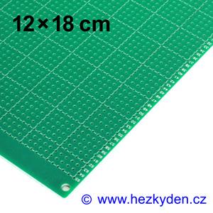 Bastldeska 12x18 cm PROFI jednostranná