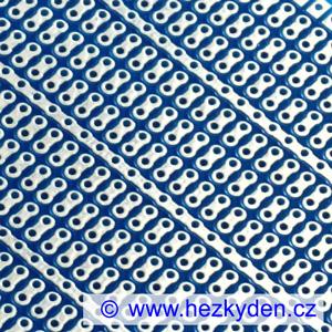 Bastldeska univerzální plošný spoj 7x9 cm PROFI jednostranná modrá