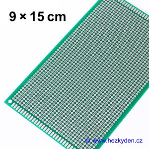 Bastldeska univerzální plošný spoj 9x15cm PROFI