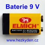 Baterie 9 volt