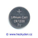 Lithiová baterie CR1220
