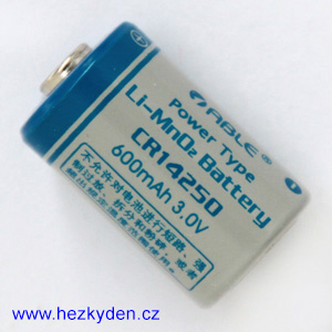 Lithiová baterie CR14250