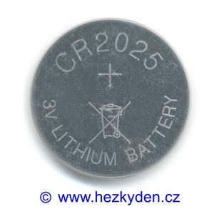 Lithiová baterie CR2025
