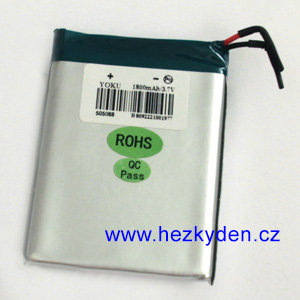 Baterie LiPol 1800 mAh