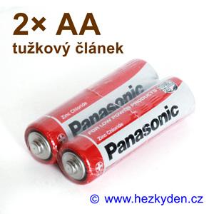 Baterie Panasonic AA - sada 2 ks