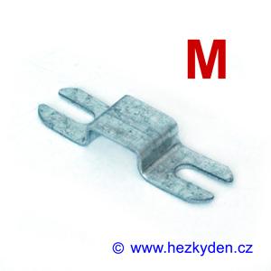 Bimetalový teplotní spínač STANDARD - úchytka tvaru M