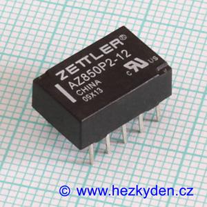 Bistabilní relé 12 V - ZETTLER AZ850P2-12