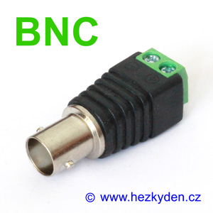 BNC zásuvka svorkovnice