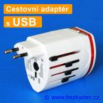 Cestovní adaptér USB