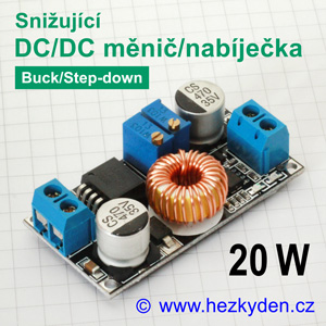 DC-DC měnič nabíječka CC4015
