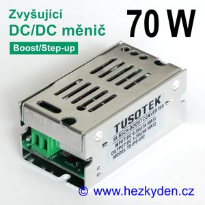 Výkonový zvyšující DC-DC měnič CN5139