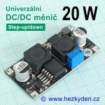 DC/DC měnič CN6019 univerzální 20 watt