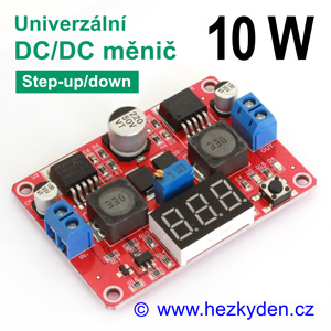DC-DC měnič LM2577 LM2596 step-up-down/buck-boost