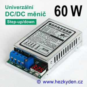 Výkonový DC/DC měnič DVM5139 univerzální svoltmetrem