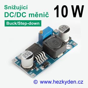 DC/DC měnIč LM2596 snižující 10 watt