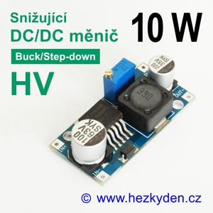 DC/DC měnIč LM2596HV snižující 10 watt