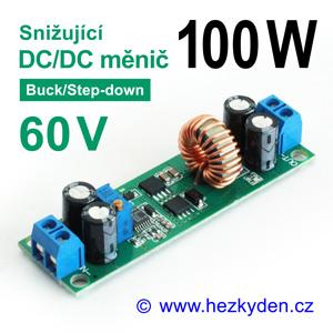 DC/DC měnIč LT3800 snižující 100 watt