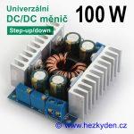 DC/DC měnIč SH1215 univerzální 100 watt nabíječka