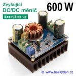 DC-DC měnič UC2843B zvyšující 600W