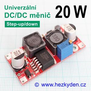 DC/DC měnIč XL6009 univerzální 20 watt