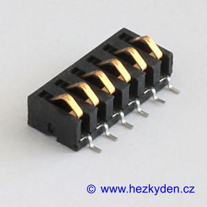 Dotykový konektor 6pin