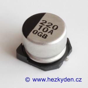 Elektrolyt 220µ 10V SMD